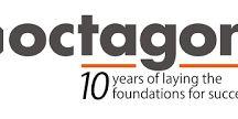 Octagon sarbatoreste 10 ani de succes in constructii cu o noua identitate vizuala