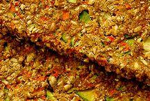 Raw Food / Raw vegan foods, raw dehidrated flat bread