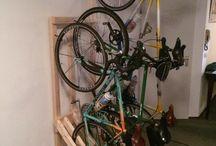 Sykkel holder
