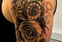 tatoo..Taschenuhren