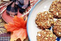 Pumpkin Recipes / All things pumpkin! / pumpkin recipes, healthy pumpkin recipes, easy pumpkin recipes, healthy pumpkin desserts, low calorie pumpkin desserts, pumpkin cookies, pumpkin desserts