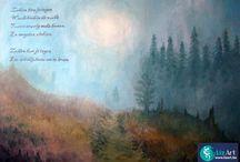 Gedicht met schilderij