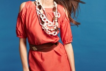 2012 Spring Trends / Here are some of my selections that follow my trends for spring: Coral, Yellow/Black, Florals, Ruffles, Nautical, Tribal Influence, Boho Chic and Color Blocking