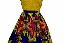 African prints / Skirts