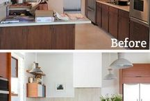 Before/After - Ikea Kitchens and Semihandmade Doors