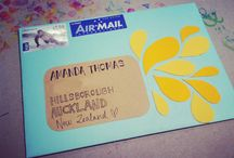 snail mail / by Cathy Morales