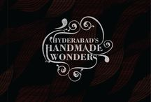 coffee table book for SECONDSKIN sarees / This Book about hand made hyderabad which contains the the hyderabad tradition monuments of handmade.