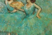 Edgar Degas. Lined Journals / Lined/ Ruled journals. Cover images: paintings by Edgar Degas.