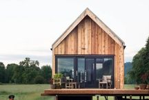 Exterior / natural living, minimalist, tiny houses, wood, industrial, family, zero waste, ecological living, recycling, upcycling, diy