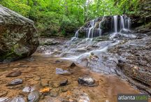 Big Canoe, Georgia: hiking & outdoor adventure guide / Explore a gorgeous gated North Georgia mountain community with three lakes, spilling waterfalls and more than 20 miles of hiking, biking and running trails: http://www.atlantatrails.com/big-canoe-ga/