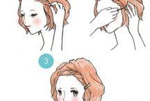 coiffures faciles