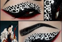 Hallowen villanas Make up