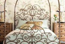 camas en hierro forjado