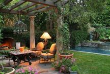 Outdoor space / by Angela Tanner