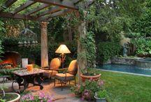 ambiance terrasse jardin