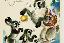 Российские новогодние открытки