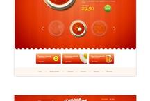 Webdesign Food / Webdesign, inspiration
