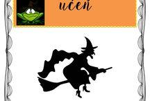 čarodějnice pracovní listy
