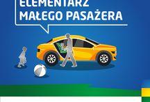 Elementarz małego pasażera / Bezpieczeństwo dzieci w aucie i jego otoczeniu