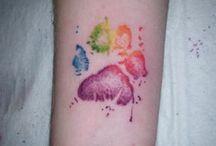Tatuaggi Impronta Di Zampa