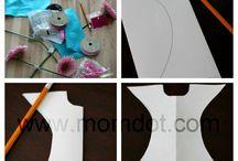 Diseños para niñas / Como guardar los moños