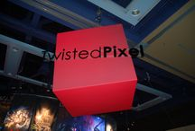 Pax Prime Twisted Pixel Booth / Trade Show Booth