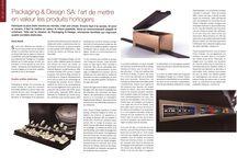 Packaging & Design SA / Holding regroupant Gainerie Moderne SA, Pozzo di Borgo Styling SA, Huguenin-Sandoz SA et RS Agencement Steiner SA.