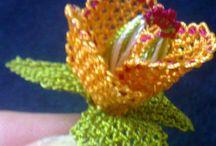 kendi emeğim#iğne oyası çiçek
