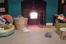 chimney breast with logburner ideas