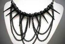 Goth necklaces