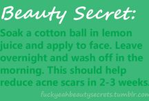 Tips...beauty ....makeup...hair / by Randi Bohler