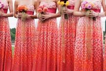 Wedding Clothing: Bridesmaid Dresses / #bridesmaid #bridesmaiddress #bridesmaiddresses #wedding #weddingclothes #sjs #sjsevents #sonaljshah #sjsbook www.sjsevents.com/
