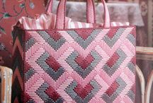 bags plastic canvas