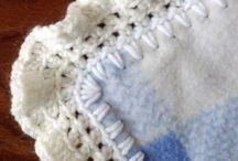 Crochet borders and edgings