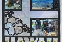 Hawaii scrapbook and cards