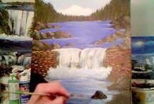 Уроки рисования акриловыми красками