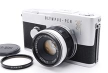 OLYMPUS PEN-F 35mm Half Frame Camera F.Zuiko 38mm f/1.8 Lens