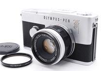 OLYMPUS PEN-F 35mm Half Frame Camera F.Zuiko 38mm f/1.8 Lens