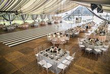 Weddings under a tent