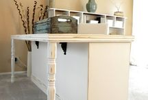 craft table / by Rebekah Field