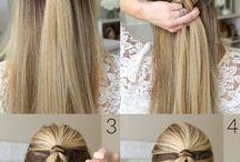 причёски - волосы