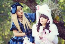 Lolita Fashion / Lolita fashion, mostly focused on gothic and sweet lolita. I wish I could rock the lolita look as well as these girls can. / by ecchibat
