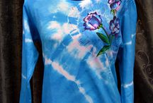 Tie Dye Projects / A selection of tie dye craft projects for young and old