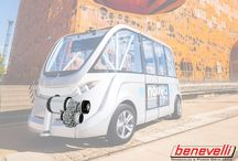 Electric Vehicles powered by Benevelli