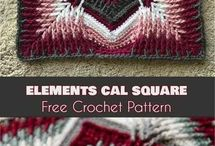 CROCHETED BLANKETS-THROWS-PILLOWS