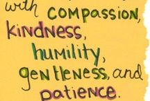 Kindness - My one word 2013-14