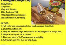 Pineapple lumps log