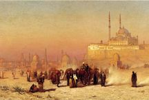 Mosques in art / Mosques in paintings,drawings and other art forms