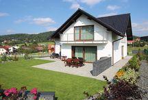 Cihlostavby / Bydlení v rodinných domech, které jsou postaveny ze zdícich materiálů
