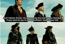 Pirates of the Caribbean / Because I love my pirates, savvy?  / by Virgie Powell
